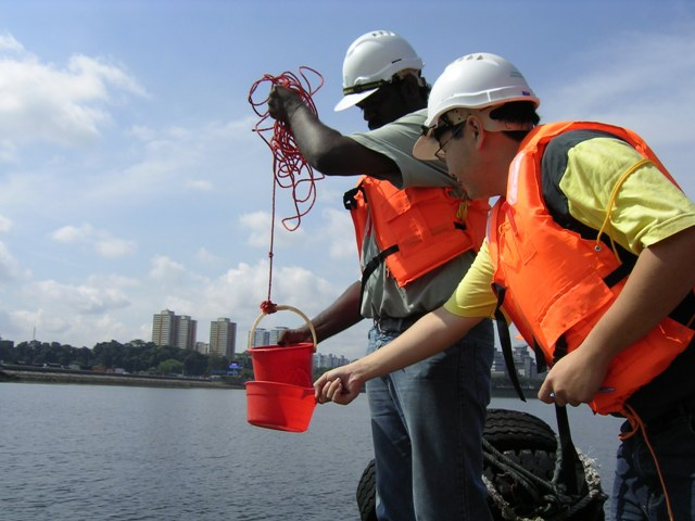 water sampling, site management, marine, consultancy